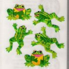Glittery Leaping Frogs
