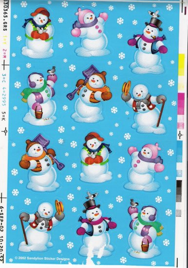 Maxi Snowmen