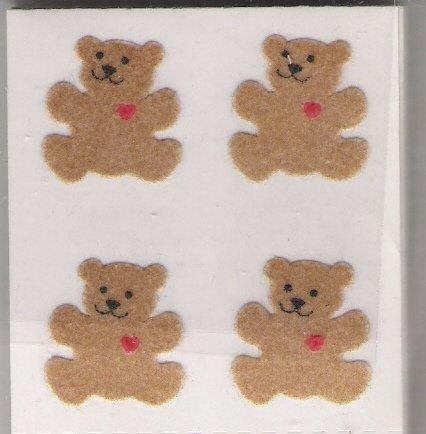 4 Fuzzy Bears
