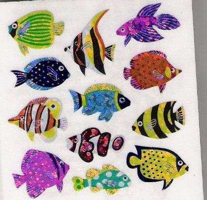 Glittery Fish