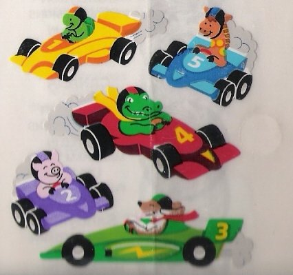 Animal Race Cars