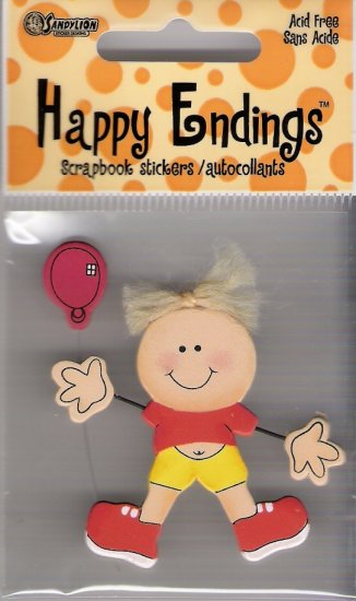Happy Endings baby with Balloon