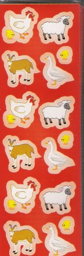 Red Farm Animals