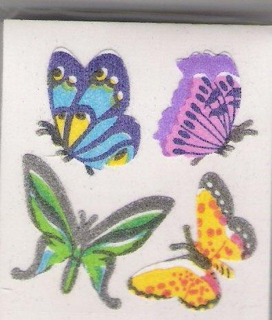 Fuzzy Butterflies
