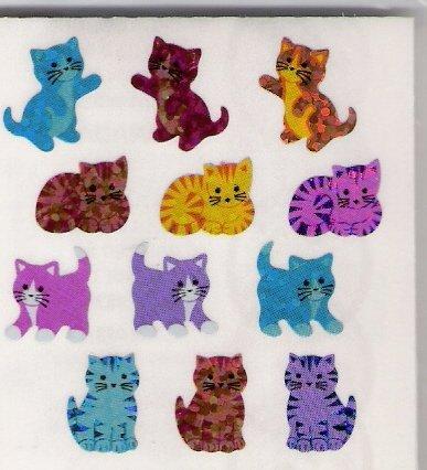 Mini Glittery Cats