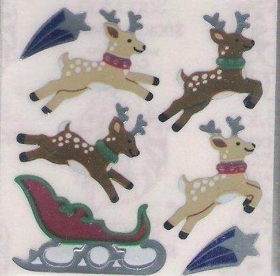 Leaping Reindeers