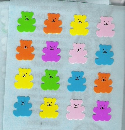Mini Colorful Bears