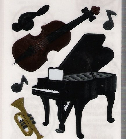Big Piano and Musical Instruments