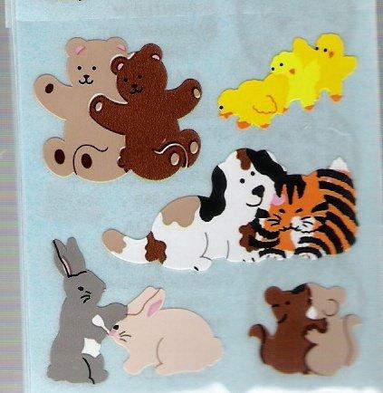 Hugging Bears, Bunnies...
