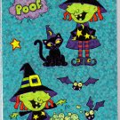 Long Witch Stickers