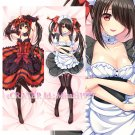 Date A Live Dakimakura Kurumi Tokisaki Anime Hugging Body Pillow Case Cover 02