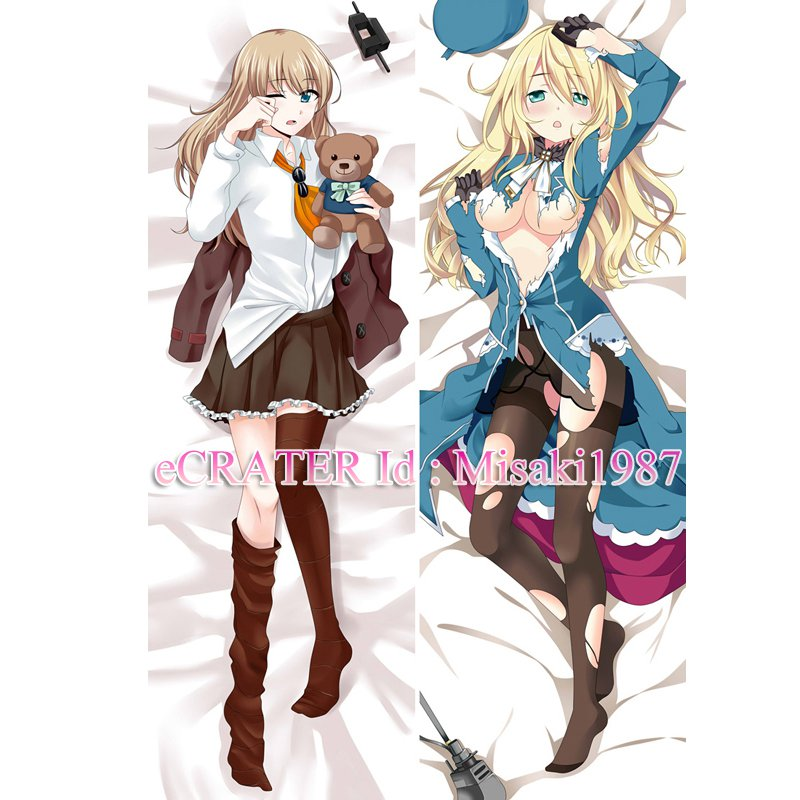 Kantai Collection KanColle Dakimakura Atago Anime Hugging Body Pillow Case