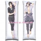Naruto Dakimakura Sasuke Uchiha Itachi Anime Hugging Body Pillow Case Cover