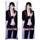 Bleach Dakimakura Byakuya Kuchiki Anime Hugging Body Pillow Case Cover