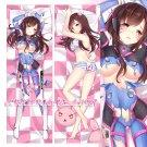 Overwatch Dakimakura D.Va Anime Girl Hugging Body Pillow Case Cover