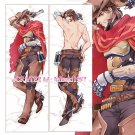 Overwatch Dakimakura Jesse McCree Anime Hugging Body Pillow Case Cover