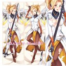 Overwatch Dakimakura Mercy Angela Ziegler Anime Girl Hugging Body Pillow Case Cover