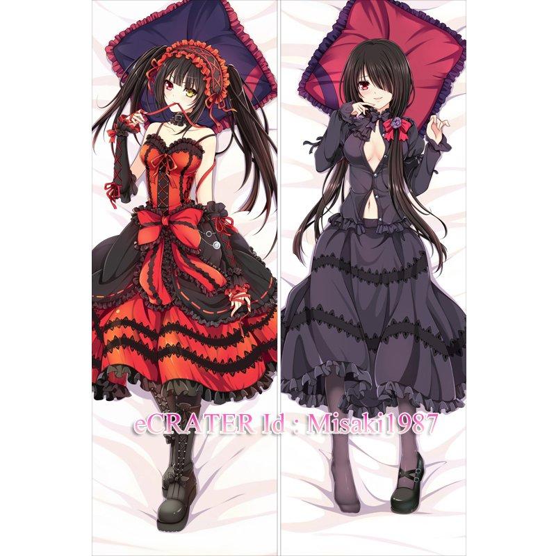 Date A Live Dakimakura Kurumi Tokisaki Anime Girl Hugging Body Pillow Case Cover 05