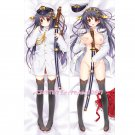 Kantai Collection KanColle Dakimakura Haruna Anime Girl Hugging Body Pillow Case Cover