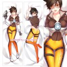 Overwatch OW Dakimakura Tracer Anime Girl Hugging Body Pillow Case Cover