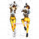 Overwatch OW Dakimakura Tracer Anime Girl Hugging Body Pillow Case Cover 02
