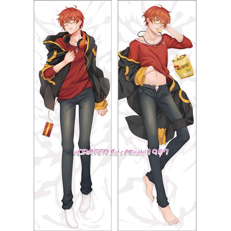 Mystic Messenger Dakimakura 707 Luciel Choi Anime Hugging Body Pillow Case Cover