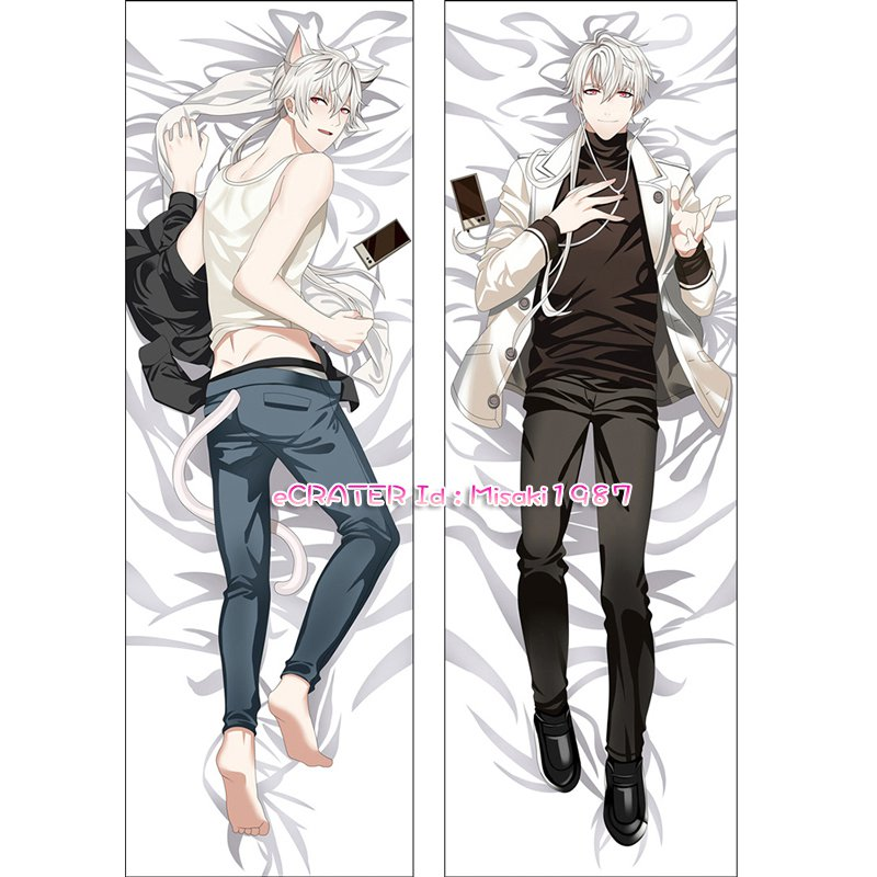 Mystic Messenger Dakimakura Zen Anime Hugging Body Pillow Case Cover 02