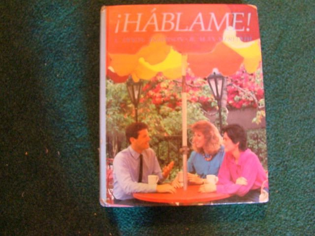 "Beginning SPANISH textbook junior or high school - ""Hablame!"""