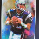 Tom Brady New England Patriots Art Print 16x20