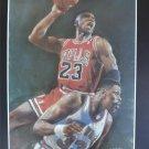 Michael Jordan Chicago Bulls Art Print 16x20