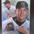 Alex Rodriguez New York Yankees Art Print 16x20