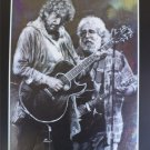 Bob Dylan and Jerry Garcia On Stage Art Print 16x20