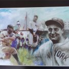 Lou Gehrig New York Yankees Art Print 16x20