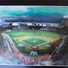 New York Yankees Stadium Art Print 16x20
