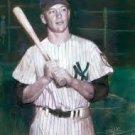 Mickey Mantle New York Yankees Art Print 16x20