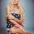 Pamela Anderson American Flag Rare  Poster