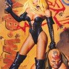 Pamela Anderson Barb Wire Cartoon Rare  Poster