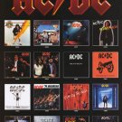 AC DC Album Covers 1975-1995 Poster