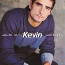 Backstreet Boys Kevin Blue Shirt 1999 Rare Music Poster