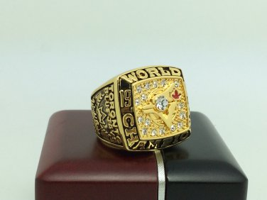 1992 Toronto Blue Jays world series Championship Ring 11 Size With wooden box