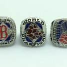One set 3 PCS 2004 2007 2013 Boston Red Sox world series Championship Ring 11 Size