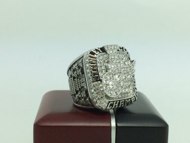 2008 Detriot Red Wings Stanley Cup Championship ring 11 Size With wooden box