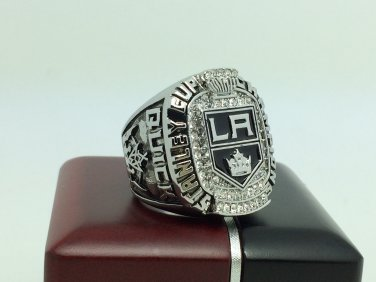 2012 Los Angeles La Kings Stanley Cup Championship ring 11 Size With wooden box