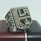 2014 Los Angeles La Kings Hockey Stanely Cup Championship ring 9-13 Size With wooden box