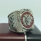 2013 Chicago BlackHawks Hockey Stanely Cup Championship ring 9-13 Size With wooden box