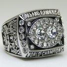 1980 Oakland Raiders super bowl Championship Ring 11 Size