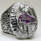 2012 Baltimore Ravens super bowl Championship Ring 11 Size