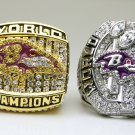 One Set 2 PCS 2000 2012 Baltimore Ravens super bowl Championship Ring 11 Size