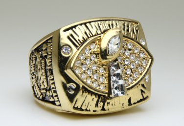 2002 Tampa Bay Bucaneers super bowl Championship Ring 11 Size