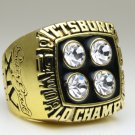1979 Pittsburgh Steelers super bowl Championship Ring 11 Size